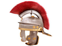 Casco romano isolato Fotografie Stock Libere da Diritti