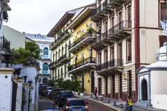 Casco Viejo在巴拿马城 库存图片