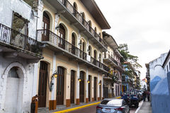 Casco Viejo在巴拿马城 图库摄影