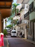 Casco Viejo Royalty Free Stock Photography