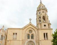 Casco Viejo Church, Panama City. Old church in Casco Viejo in Panama City Royalty Free Stock Photos