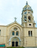 Casco Viejo Church, Panama City. Old church in Casco Viejo in Panama City Stock Photography