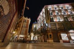 Casco viejo at night Royalty Free Stock Photo