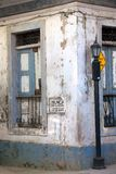 Casco Viejo. Old buildings in Casco Viejo in Panama City Panama. Casco Viejo is the historic district of Panama City. Completed and settled in 1673. It was Stock Photo