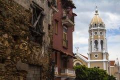 Casco Viejo in Panamá Immagini Stock Libere da Diritti