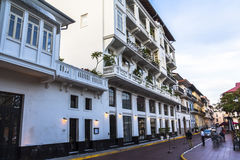 Casco Viejo in Panama City Stock Photo