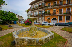 Casco Viejo (Spanish for Old Quarter), also known Royalty Free Stock Photography
