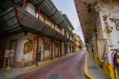 Casco Viejo (Spanish for Old Quarter), also known Stock Photos