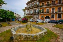 Casco Viejo także znać, (hiszpańszczyzny dla Starej ćwiartki) fotografia royalty free