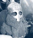 Casco y armadura Foto de archivo libre de regalías