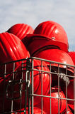 Cascos de seguridad Fotografía de archivo libre de regalías