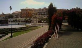 Cascoviejo, oude stad, de stad van Panama stock foto's