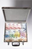 Case. Money case on white background Stock Photography