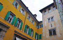 Case accoglienti di Udine Fotografia Stock