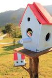 Case adorabili dell'uccello immagine stock libera da diritti