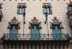 Case Amatller. Barcellona. Fotografia Stock Libera da Diritti
