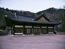 Case asiatiche in tempio di Sinheungsa Fotografie Stock