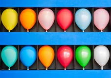 Case of Balloons Stock Images
