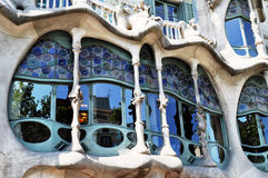 Case Batlló a Barcellona Fotografie Stock