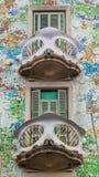 Case Batllo, Barcellona Immagine Stock