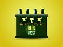 Case of beer Royalty Free Stock Images