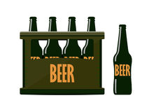Case of beer Royalty Free Stock Photography