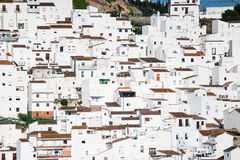 Case bianche spagnole Immagine Stock Libera da Diritti