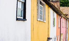 Case classiche a Bergen Fotografia Stock