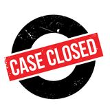 Case closed stamp Stock Photography