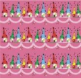 Case Colourful Fotografie Stock Libere da Diritti