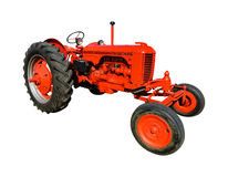 Case DC Vintage Agriculture Tractor. Case DC antique agriculture farming row crop tractor from the vintage American machine and equipment manufacturer Stock Image
