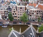 case del canale di Amsterdam Fotografie Stock