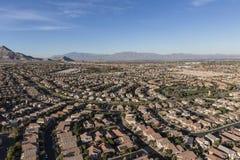 Case del deserto di Las Vegas immagine stock