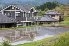 Case del Giappone Fotografie Stock Libere da Diritti