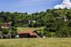 Case del villaggio fotografia stock libera da diritti