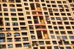 Case dell'appartamento Fotografia Stock