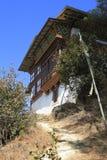 Case della campagna, Bhutan Fotografie Stock Libere da Diritti