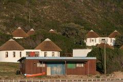 case della casa per le vacanze della barca Immagine Stock