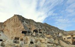 Case della caverna Fotografia Stock Libera da Diritti