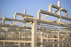 Case della costruzione Fotografia Stock