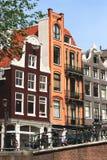 Case di Amsterdam Immagine Stock