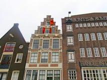 Case 0845 di Amsterdam Fotografie Stock