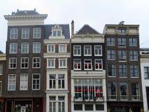 Case 0900 di Amsterdam Immagine Stock