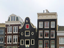 Case 0901 di Amsterdam Fotografia Stock