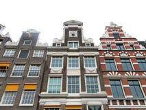 Case 0909 di Amsterdam Fotografia Stock