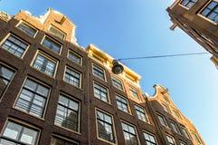 Case di Amsterdam Immagini Stock