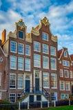 Case di Amsterdam Fotografia Stock Libera da Diritti