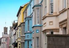 Case di appartamenti a Cardiff Fotografia Stock Libera da Diritti