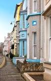 Case di appartamenti inglesi Fotografia Stock