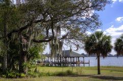 Case di barca, Florida Immagini Stock Libere da Diritti